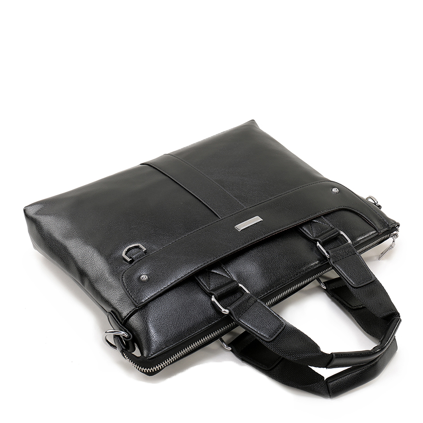 Casual Business Leather Messenger Bag Mens Crossbody Bags