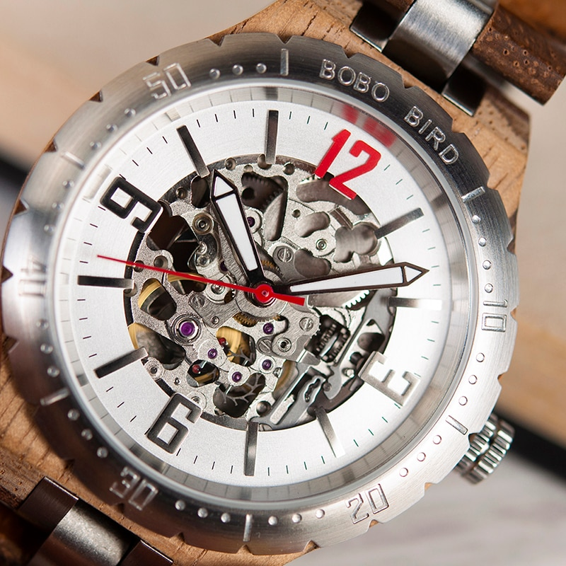 Luxury Mechanical Waterproof Automatic Watches Mens Mechanical Watches