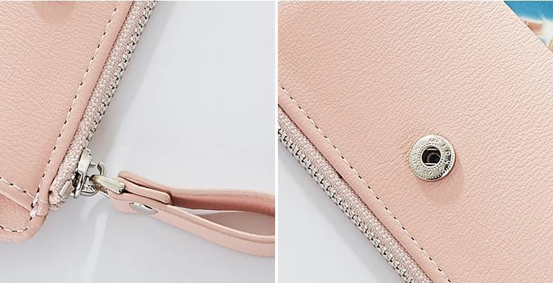 Women Wallets With ID Card Holder