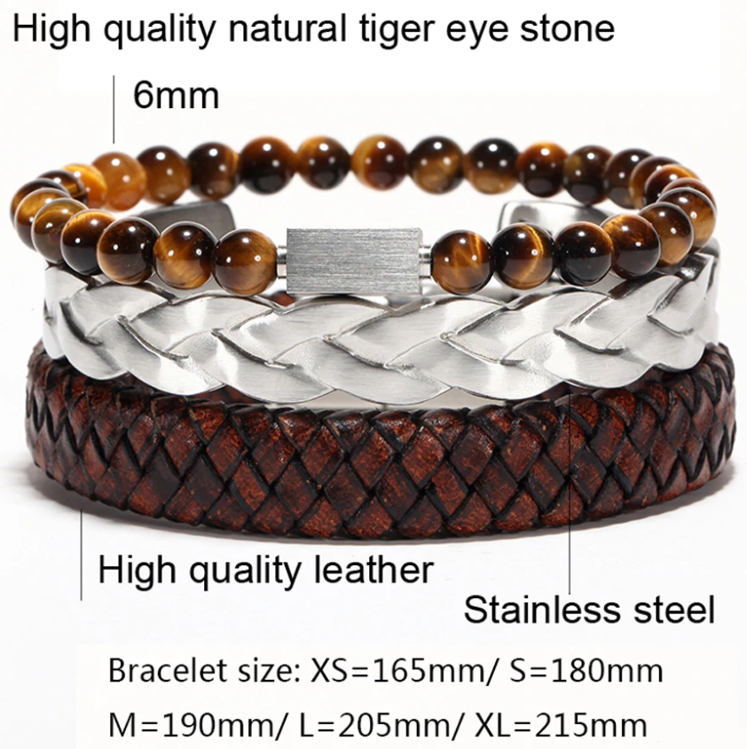 Twisted Braiding Steel Wires Cuff Bangles