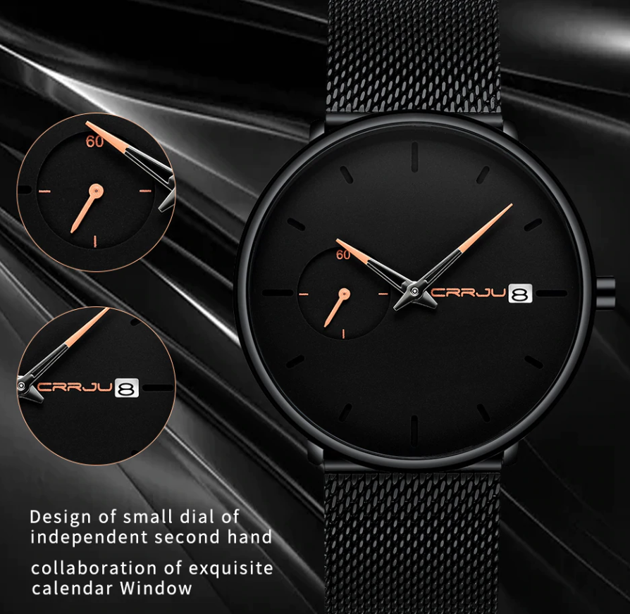 Sports Date Mens Watches