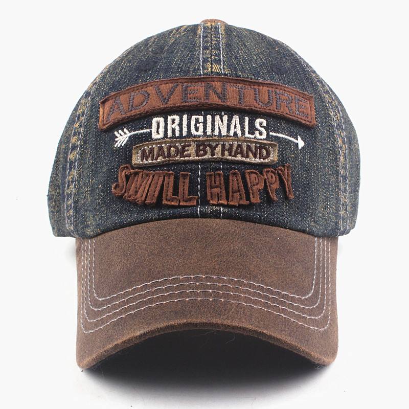 Casual Denim Baseball Cap Mens Baseball Caps