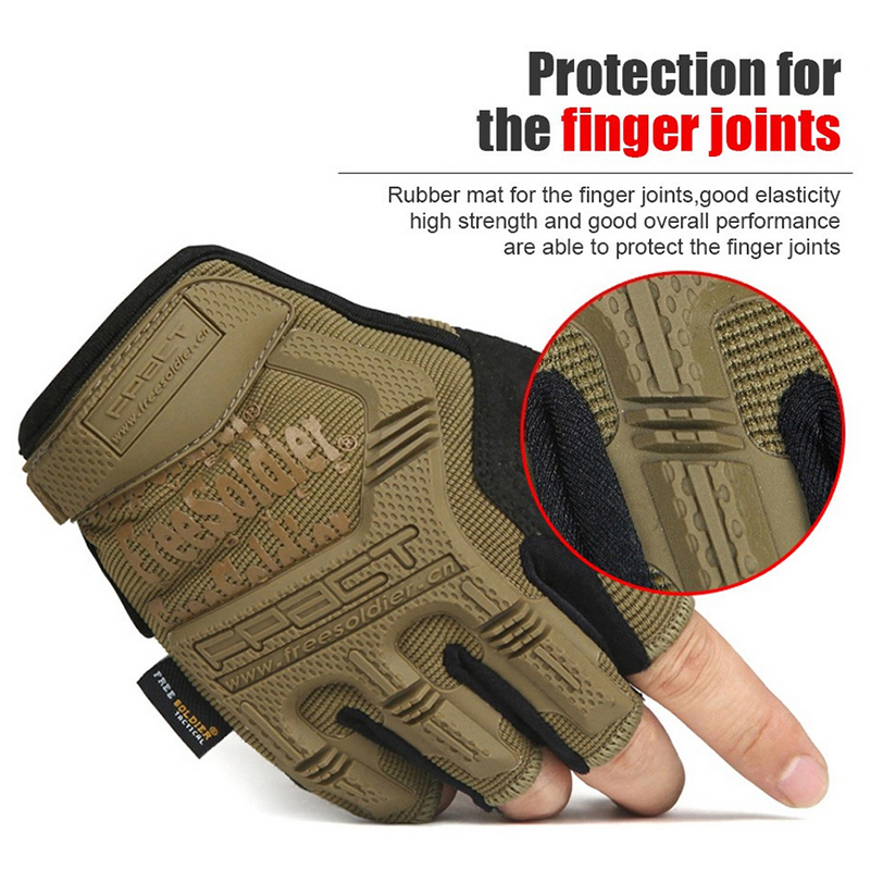 Non-Slip Protection Tactical Gloves Mens Gloves & Mittens