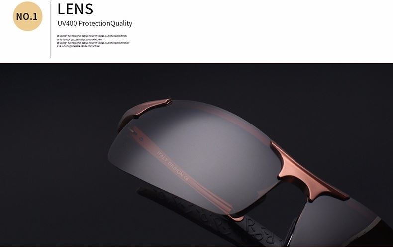 Light Aluminum Magnesium Polarized Sunglasses