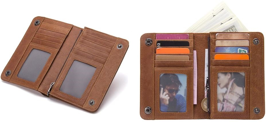 Leather Male Wallet