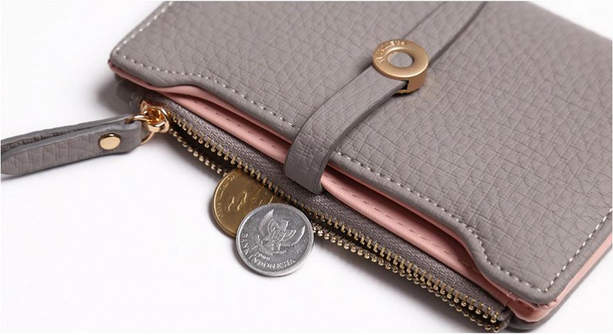Clasp Purse Money Coin Card Holders wallets