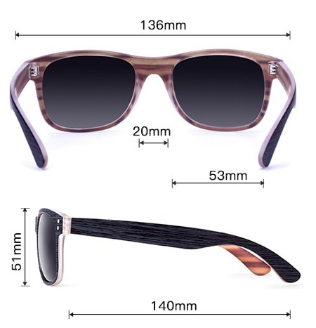 Fashion Square Polarized Sunglasses