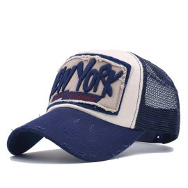 New York Baseball Mesh Caps Mens Baseball Caps