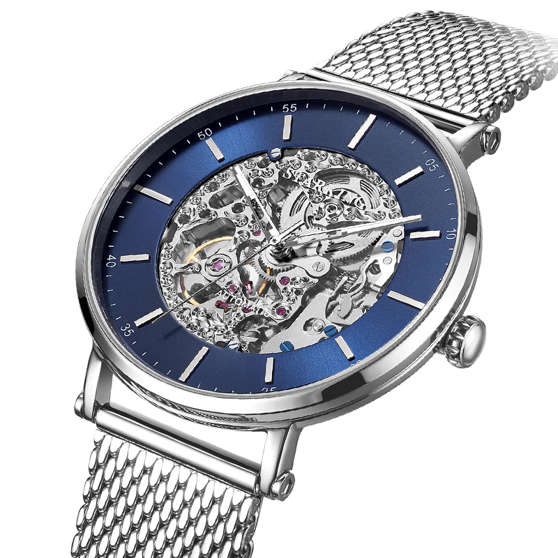 Automatic Self-Wind Mechanical Watches Mens Mechanical Watches