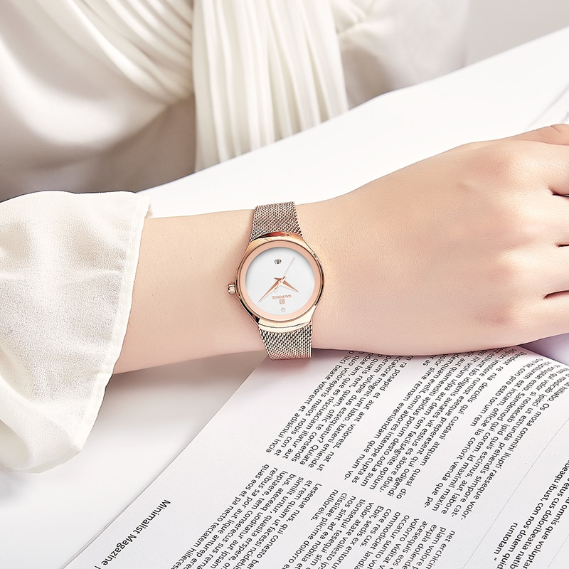 Fashion Ladies Waterproof Quartz Watches Women's Quartz Watches