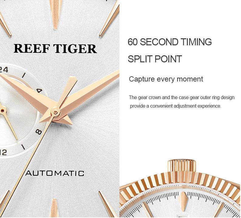 Genuine Leather Strap Waterproof Watches