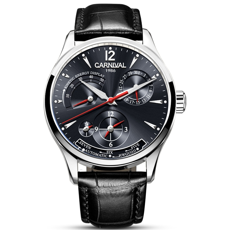 Fashion Multifunction Automatic Mechanical Watch Mens Mechanical Watches