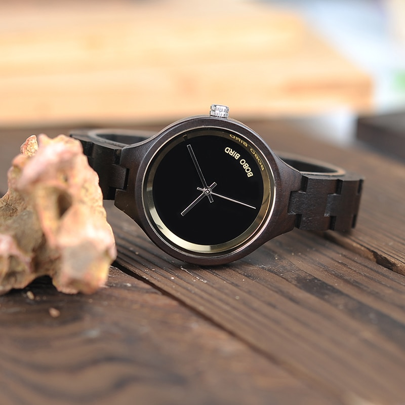 Wooden Band Exquisite Ladies Quartz Watches Women's Quartz Watches