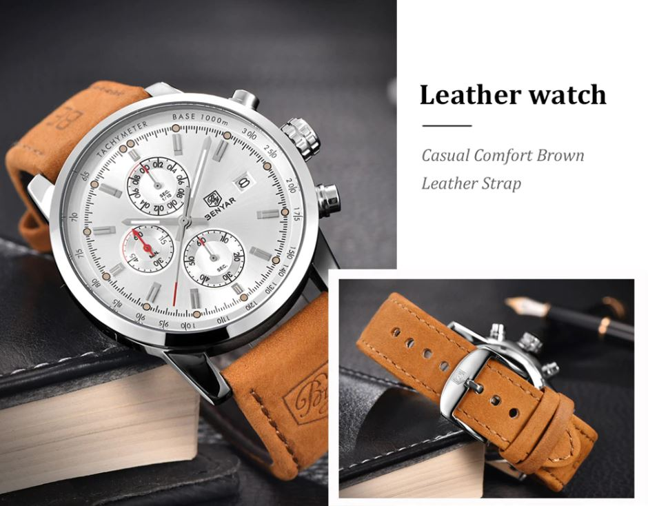fashion & casual sports Business Wristwatches