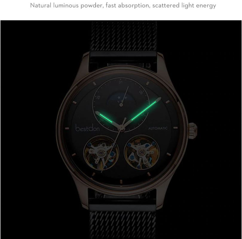 Skeleton Mechanical Watches For Men