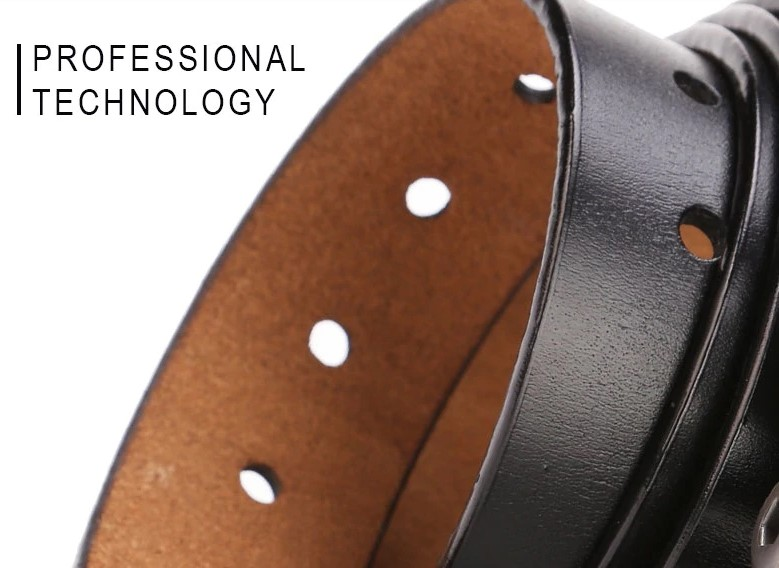 Buckle Quality Male Brown Strap