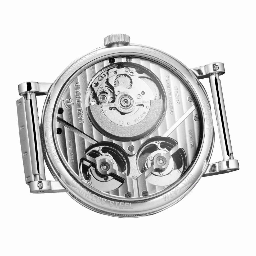 Designer Skeleton Automatic Mechanical Watches Men's Watches Mens Mechanical Watches