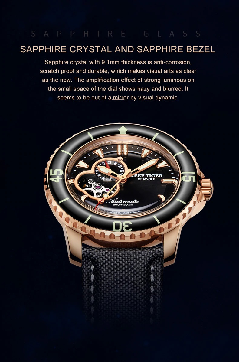 Sport Automatic Watches for Men