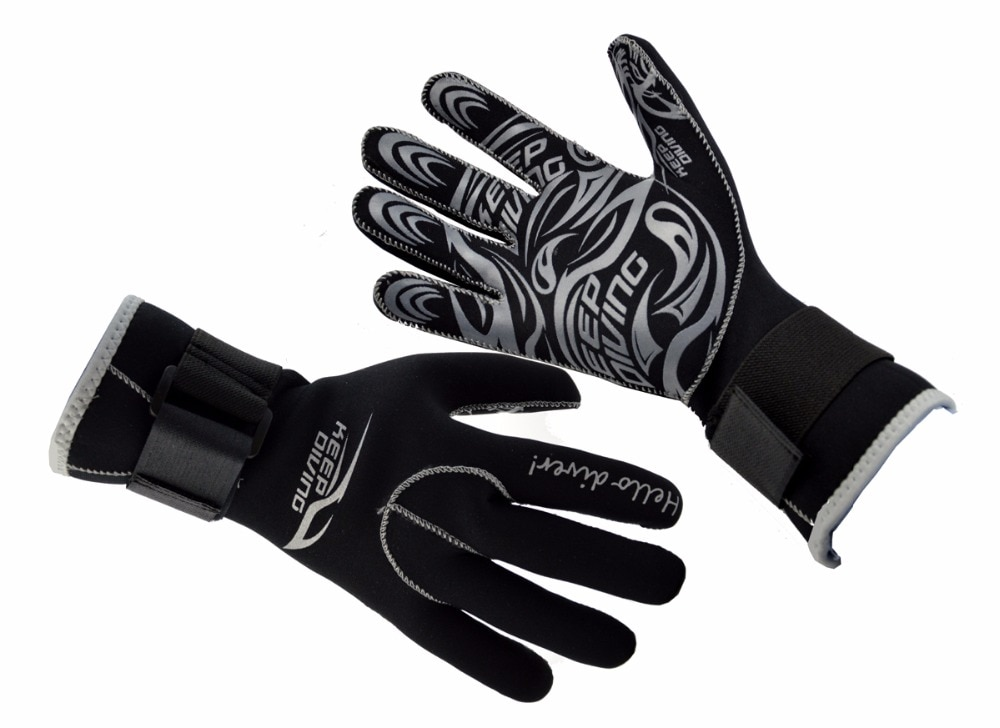 Genuine Neoprene Anti Scratch Warm Gloves Mens Gloves & Mittens Men's Accessories