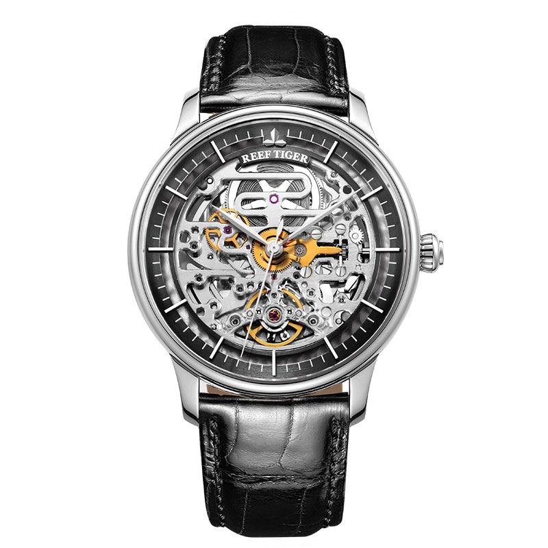 Luxury Designer Skeleton Mens Automatic Watch Men's Watches Mens Mechanical Watches